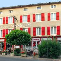 Hôtel des voyageurs, hotel near Loudes Airport - LPY, Saint-Paulien