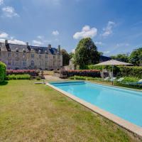 Fontenay-sur-Mer Chateau Sleeps 14 Pool WiFi