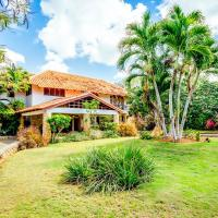 Cajuiles Villa Sleeps 8 with Pool Air Con and WiFi