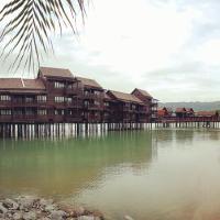The lagoon water resort