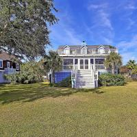 Charming Beach Home with Balconies & Lush Yard home