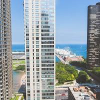 ENVITAE 3BR Luxury Corner Loft with Navy Pier Views