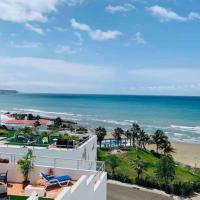 Super Duplex al mar con acceso a la playa - Club Privado en Manta, hotel em Manta