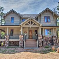 Lakefront House with Grill in Fox Acres Mtn Resort!, hotel in Red Feather Lakes