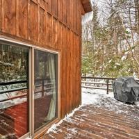 Rustic Searsport Cabin Loft and Sunroom on 10 Acres