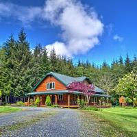 Peaceful Retreat on 10 Acres Less Than 7 Miles to La Push, hotel in Forks