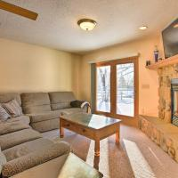 Cozy Riverfront Home with Fire Pit in Houghton Lake!