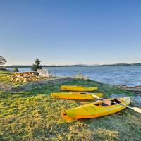Oceanfront Sullivan Cottage on 6 Acres with Kayak!