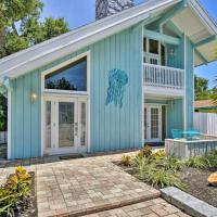 Cape Canaveral Cottage with Pool - Walk to Beach!