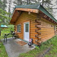 Quaint Seward Studio Cabin on Scenic Salmon Creek!