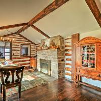 Macungie Cabin with Fireplace Near Bear Creek Skiing!, hotel in Macungie