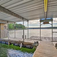Lakefront Greers Ferry Cabin with Covered Boat Slip!