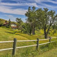 Rapid City House with Deck on Private 150-Acre Estate