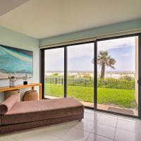 Oceanfront, Pet-Friendly Jacksonville Beach Condo!