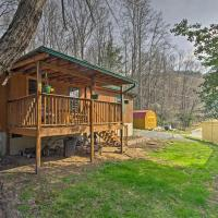 'Balsam Valley Cabin' with Porch by Blue Ridge Pkwy!, hotel in Waynesville
