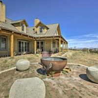 Epic Mountain Estate with Views - South of Santa Fe!, hotel in Cerrillos