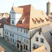 Hotel Altes Brauhaus, hotel in Rothenburg ob der Tauber