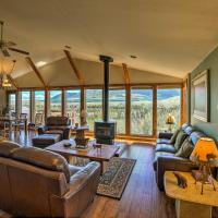 'Elk Mountain' Red Lodge Hillside Home with Hot Tub!