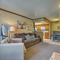 Brian Head Condo with Amenities - Steps to Resort!