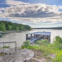 Upscale Lake Retreat with Boat Slips on Greers Ferry!