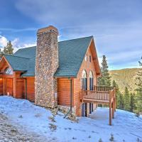 Idaho Springs Cabin with Views - 3 Mi to Echo Mtn!