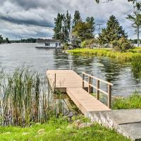 Waterfront Wellesley Island Apt with Private Dock!