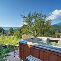 Scenic 'Hawk Hill Retreat House' on 10 Acres with Spa