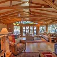Hillside Home with Deck and Views of Tomales Bay!, hotel in Inverness
