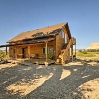 Cozy Henrieville Cabin with Porch Near Bryce Canyon!