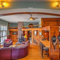 East Burke Home w/Large Deck On Mtn Bike Trails!, hotel in East Burke