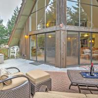 Creekside Chalet with Spa By Exclusive Irish Beach, hotel in Manchester