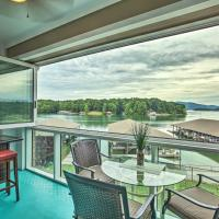 Huddleston Condo with Balcony on Smith Mountain Lake