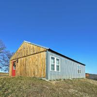 Secluded Everton Retreat with Ozark Mountain Views!