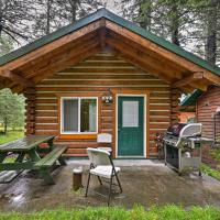 Creekside Seward Cabin with BBQ Fire Pit on 3 Acres!