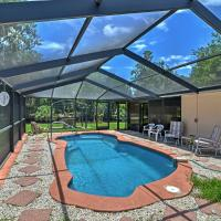 Waterfront Crystal River House with Screened-in Pool!