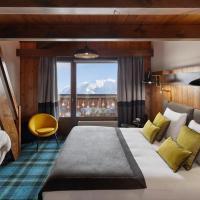 Chalet Alpen Valley, Mont-Blanc, hotel in Combloux
