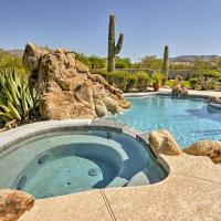 Cave Creek Oasis with Putting Green, Spa and Mtn View!