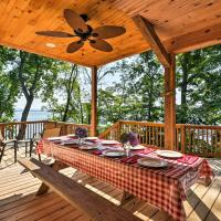 Lakefront Rutledge Cabin with Fire Pit and Private Dock, hotel in Rutledge