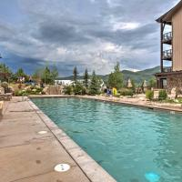 Steamboat Springs Resort Condo with Pool and Spa Access