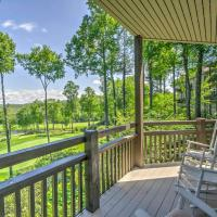 Highlands Condo with Porch, Mtn and Golf Course Views