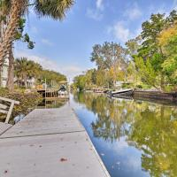 Canal Front Home with Dock and Access to Crystal River