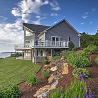Waterfront Lake Champlain Home with Hot Tub and Sauna!