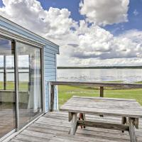 Lakefront Silver Springs Cabin with Deck & Grill!