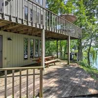 Lakefront Waupaca Home with Pool Table, Dock and Views!, hotel in Waupaca