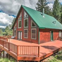 Rustic Cloudcroft Cabin on 10 Acres with Grill & Deck