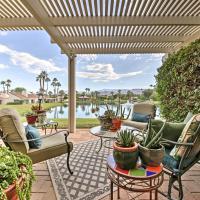 Spacious Rancho Mirage Condo with Water and Mtn Views!