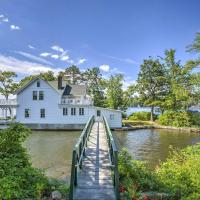 Lakefront Hopatcong House with Large Porch and Dock!, hotel in Andover