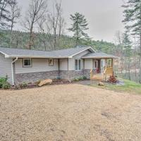 Lakefront Butler Home with Hot Tub, Fire Pit and Dock!, hotel in Butler