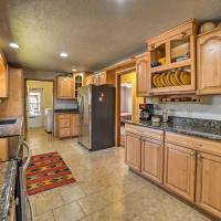 Spacious Mancos River Home with Deck on Creek and Pond!