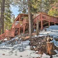 Rustic Cloudcroft Cabin with Deck-Near Skiing & Fishing!